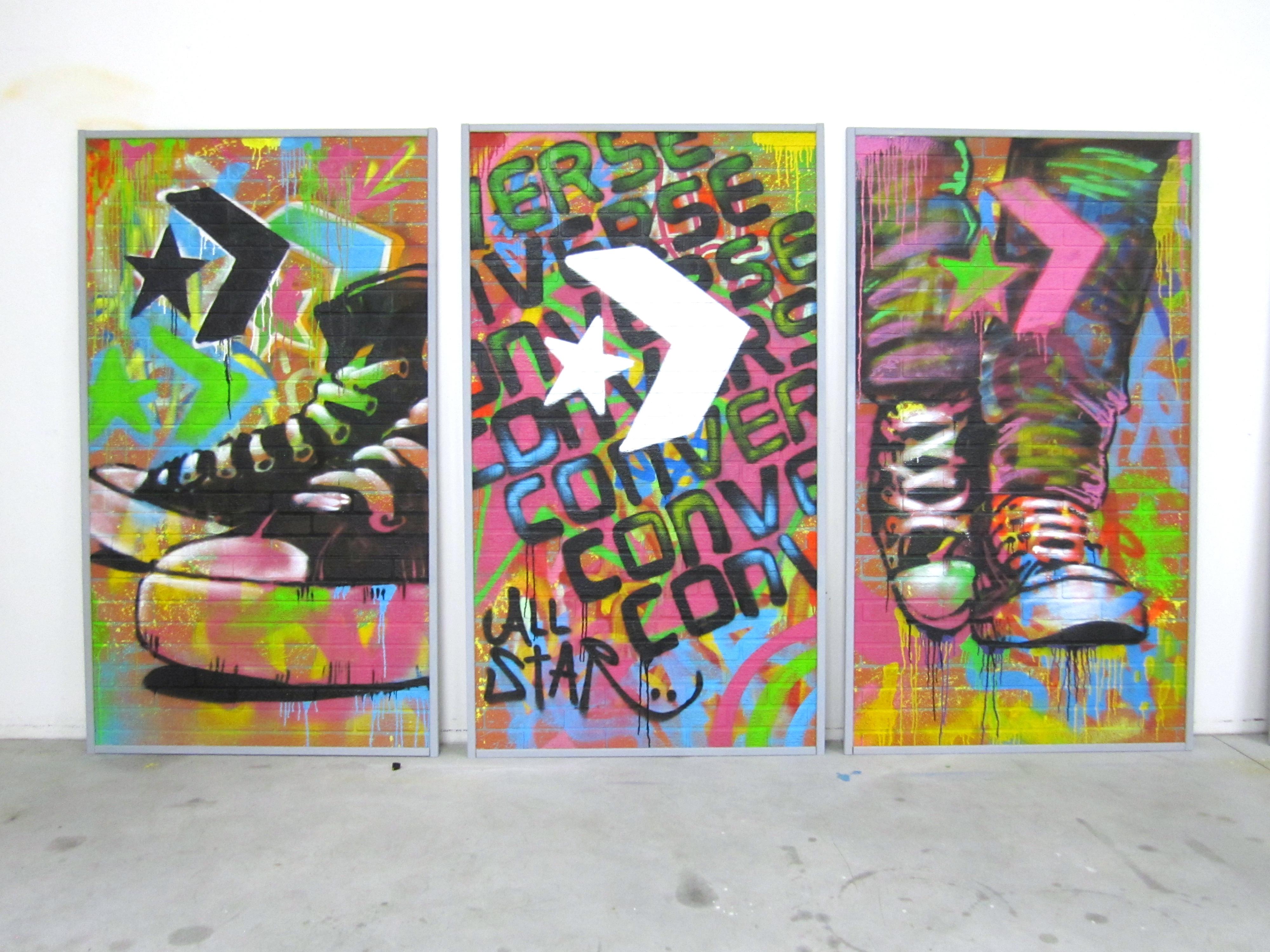 2converse murales